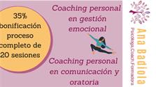 Bono de servicio de Ana Badiola coaching en gestión emocional.