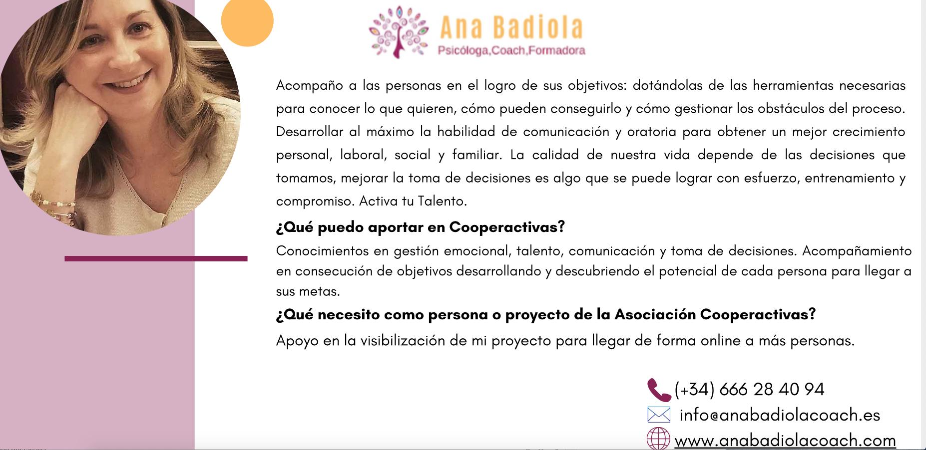 presentación del proyecto de Ana Badiola